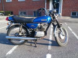 MZ 125 blue