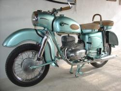 MZ 125 green