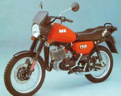 MZ 150 blue