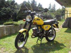 MZ 150 engine