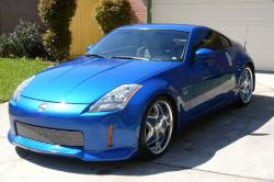 NISSAN 350 Z blue