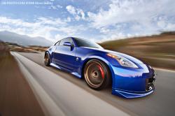 NISSAN 350Z blue