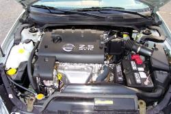 NISSAN ALTIMA 2.5 engine