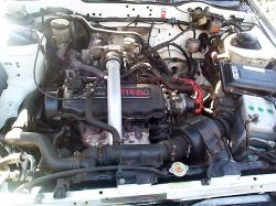 NISSAN BLUEBIRD engine