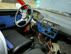 NISSAN CHERRY TURBO blue