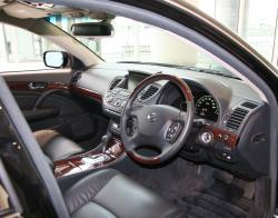 NISSAN CHERRY interior