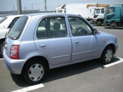 NISSAN MARCH blue