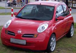 NISSAN MARCH red