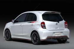 NISSAN MARCH white