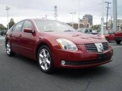 NISSAN MAXIMA red