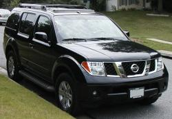 NISSAN PATHFINDER black