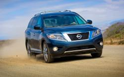 NISSAN PATHFINDER blue