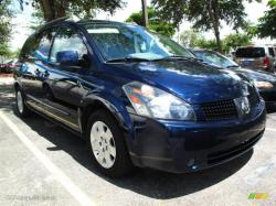NISSAN QUEST S blue