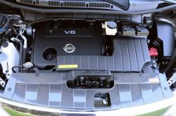 NISSAN QUEST S engine
