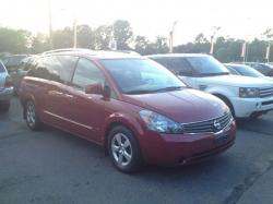 NISSAN QUEST S red