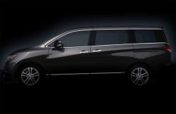 NISSAN QUEST black