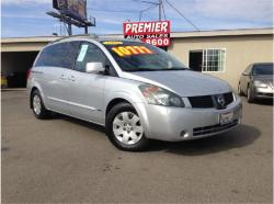 NISSAN QUEST silver