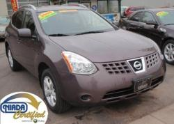 NISSAN ROGUE AWD brown
