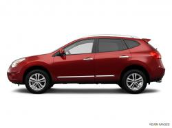 NISSAN ROGUE red