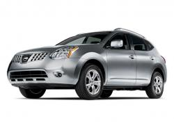 NISSAN ROGUE silver