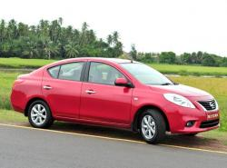 NISSAN SUNNY red