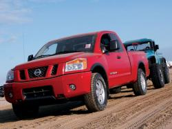NISSAN TITAN red