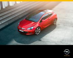 OPEL ASTRA GTC brown