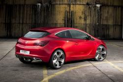 OPEL ASTRA GTC red
