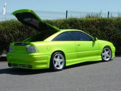 OPEL CALIBRA green