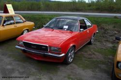 OPEL COMMODORE 2.8 GS red