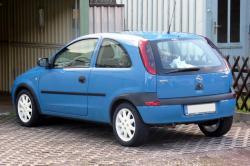 OPEL CORSA 1.0 blue