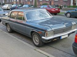 OPEL DIPLOMAT E brown
