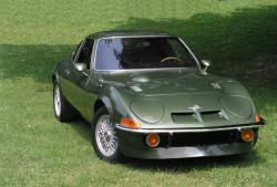 OPEL GT green