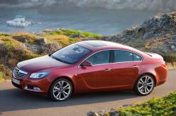 OPEL INSIGNIA red