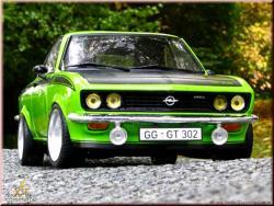 OPEL MANTA green