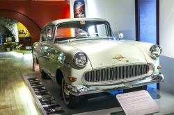 Famous Opel Record In The Museum by Jorg Hackemann