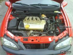OPEL TIGRA 1.4 engine