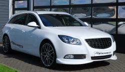 OPEL TOURER white