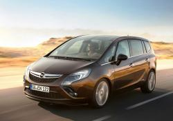 OPEL ZAFIRA brown