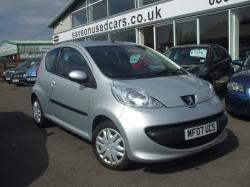 PEUGEOT 107 1.0 silver