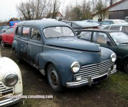 PEUGEOT 203 BREAK white