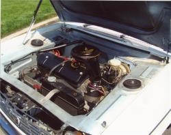 PEUGEOT 204 engine