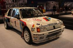 Essen - Nov 29: Peugeot 205 Turbo 16 by p.lange