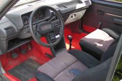 PEUGEOT 205 interior