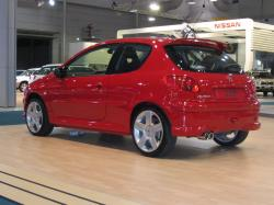 PEUGEOT 206 red