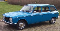 PEUGEOT 304 BREAK red