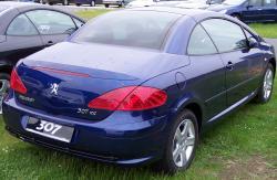 PEUGEOT 307 blue