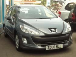 PEUGEOT 308 1.6 red