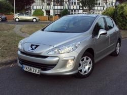 PEUGEOT 308 1.6 silver