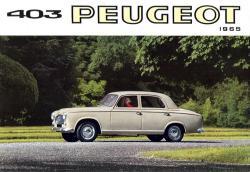 PEUGEOT 403 engine